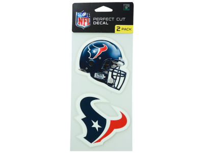 Houston Texans 2-pack 4x4 Die Cut Decal