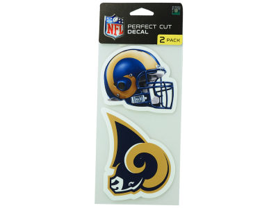 Los Angeles Rams 2-pack 4x4 Die Cut Decal