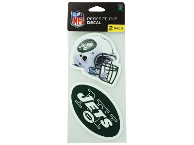 New York Jets 2-pack 4x4 Die Cut Decal