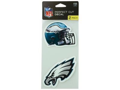 Philadelphia Eagles 2-pack 4x4 Die Cut Decal