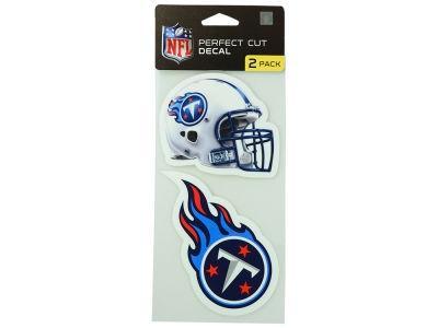 Tennessee Titans 2-pack 4x4 Die Cut Decal