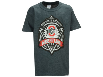 Ohio State Buckeyes NCAA Youth Wrestling Crest T-Shirt