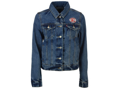 Boston Red Sox Levi's MLB Women's Denim Trucker Jacket