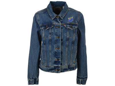 Kansas City Royals Levi's MLB Women's Denim Trucker Jacket