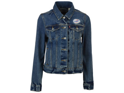Los Angeles Dodgers Levi's MLB Women's Denim Trucker Jacket
