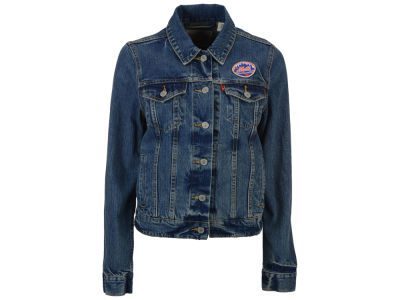 New York Mets Levi's MLB Women's Denim Trucker Jacket