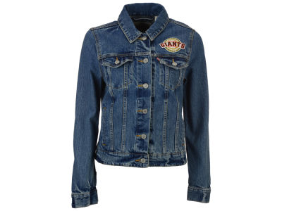 San Francisco Giants Levi's MLB Women's Denim Trucker Jacket