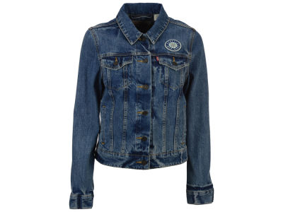 Seattle Mariners Levi's MLB Women's Denim Trucker Jacket