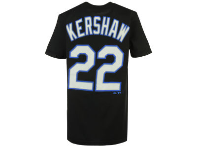 Los Angeles Dodgers Clayton Kershaw Majestic MLB Youth Official Player T-Shirt