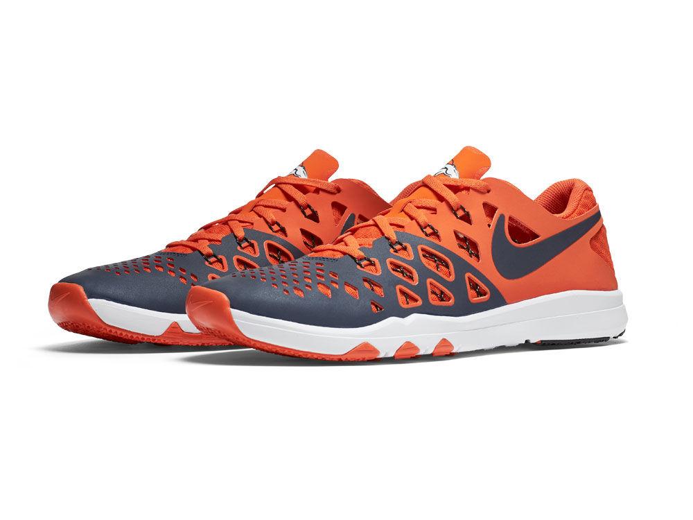 Denver Broncos Nike Train Speed 4 NFL Kickoff Shoes  7a7fde4c9e3c