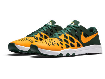 Green Bay Packers Nike Train Speed 4 NFL Kickoff Shoes