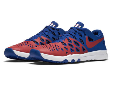 New York Giants Nike Train Speed 4 NFL Kickoff Shoes