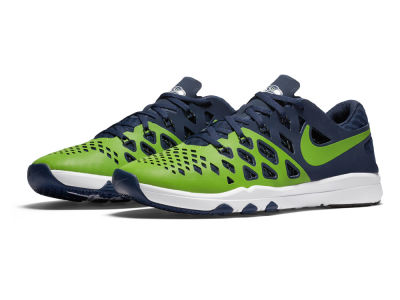 Seattle Seahawks Nike Train Speed 4 NFL Kickoff Shoes