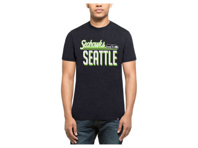 Seattle Seahawks '47 NFL Men's Script Club T-Shirt