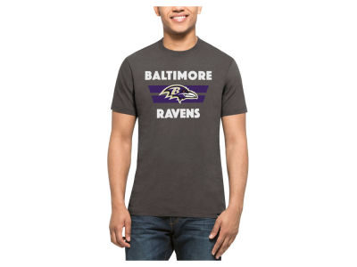 Baltimore Ravens '47 NFL Men's Two Bar Splitter T-Shirt