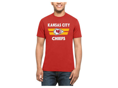 Kansas City Chiefs '47 NFL Men's Two Bar Splitter T-Shirt