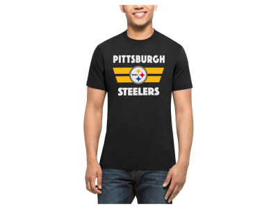 Pittsburgh Steelers '47 NFL Men's Two Bar Splitter T-Shirt