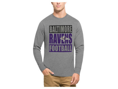 Baltimore Ravens '47 NFL Men's Compton Club Long Sleeve T-Shirt
