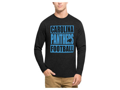 Carolina Panthers '47 NFL Men's Compton Club Long Sleeve T-Shirt