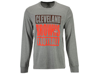 Cleveland Browns '47 NFL Men's Compton Club Long Sleeve T-Shirt