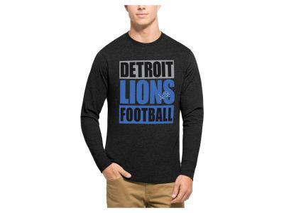 bf450f45 ... Detroit Lions 47 NFL Mens Compton Club Long Sleeve T-Shirt ...