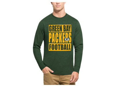 Green Bay Packers '47 NFL Men's Compton Club Long Sleeve T-Shirt