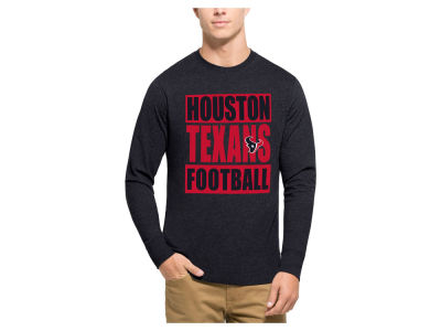 Houston Texans '47 NFL Men's Compton Club Long Sleeve T-Shirt