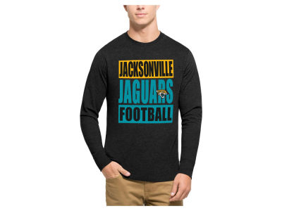 Jacksonville Jaguars '47 NFL Men's Compton Club Long Sleeve T-Shirt