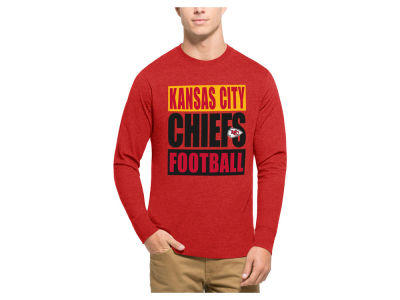 Kansas City Chiefs '47 NFL Men's Compton Club Long Sleeve T-Shirt