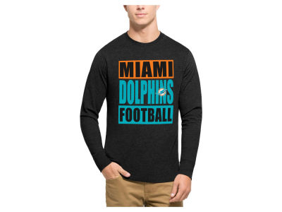 Miami Dolphins '47 NFL Men's Compton Club Long Sleeve T-Shirt