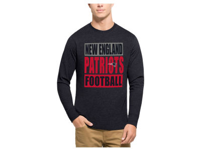 New England Patriots '47 NFL Men's Compton Club Long Sleeve T-Shirt