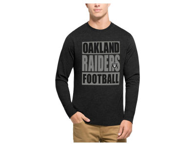 Oakland Raiders '47 NFL Men's Compton Club Long Sleeve T-Shirt