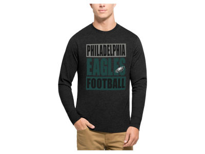 Philadelphia Eagles '47 NFL Men's Compton Club Long Sleeve T-Shirt