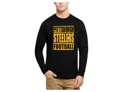 Pittsburgh Steelers '47 NFL Men's Compton Club Long Sleeve T-Shirt