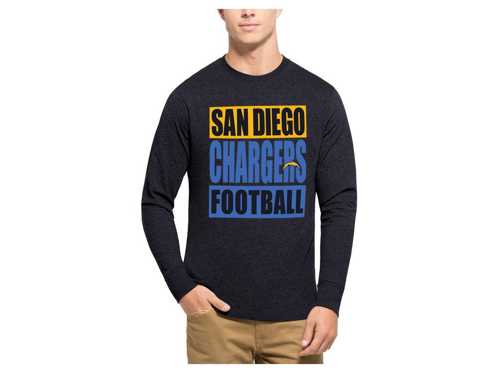 San Diego Chargers  47 NFL Men s Compton Club Long Sleeve T-Shirt ... 136f5c9f0