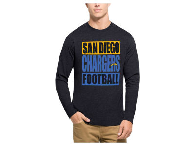 Los Angeles Chargers '47 NFL Men's Compton Club Long Sleeve T-Shirt
