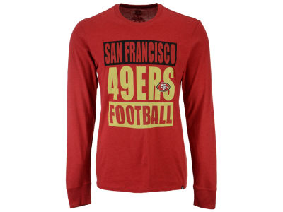 San Francisco 49ers '47 NFL Men's Compton Club Long Sleeve T-Shirt