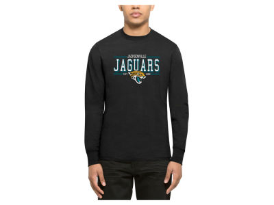 Jacksonville Jaguars '47 NFL Men's Double Option Splitter Long Sleeve T-Shirt