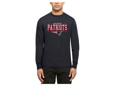 New England Patriots '47 NFL Men's Double Option Splitter Long Sleeve T-Shirt