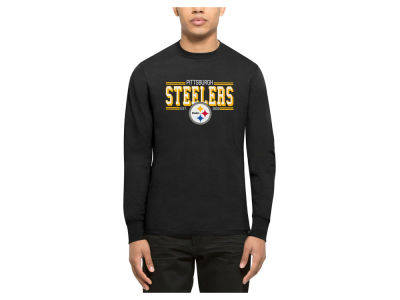 Pittsburgh Steelers '47 NFL Men's Double Option Splitter Long Sleeve T-Shirt