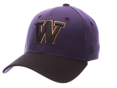 Washington Huskies Zephyr NCAA Flex Cap