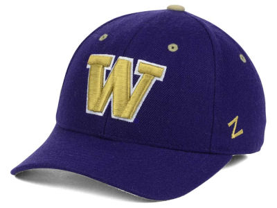 Washington Huskies Zephyr NCAA DH Fitted Cap