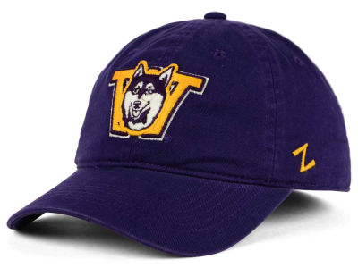 Washington Huskies Zephyr NCAA Scholar Fitted Cap