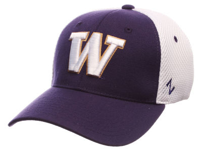 Washington Huskies Zephyr NCAA Shortstop Flex Cap