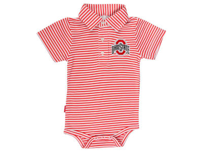Ohio State Buckeyes NCAA Newborn Carson Polo Creeper