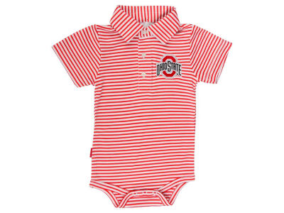 Ohio State Buckeyes NCAA Infant Carson Polo Creeper