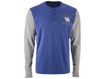 Kentucky Wildcats '47 NCAA Men's Downfield Henley T-Shirt
