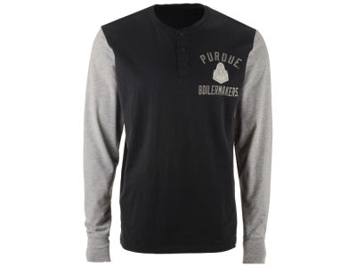 Purdue Boilermakers '47 NCAA Men's Downfield Henley T-Shirt