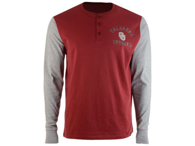 Oklahoma Sooners '47 NCAA Men's Downfield Henley T-Shirt