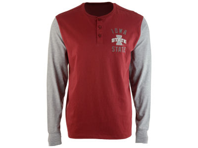 Iowa State Cyclones '47 NCAA Men's Downfield Henley T-Shirt